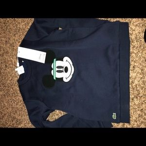 Disney Lacoste Crew Neck Sweat Shirt (Boys)